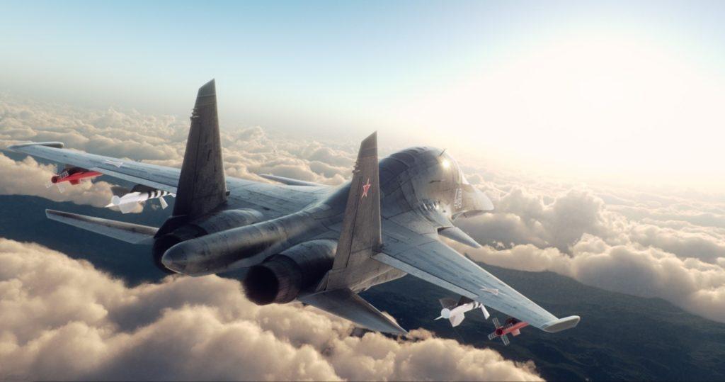 Огромный бомбардировщик без регистрации